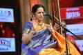 Singer Aruna Sairam @ Chennaiyil Thiruvaiyaru 2016 (Day 8) Stills