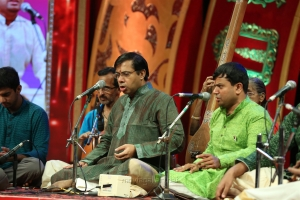 Dushyanth Sridhar & Carnatica Brothers @ Chennaiyil Thiruvaiyaru Season 14 Day 2 (19th Dec) Photos