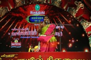 Devotional Discourse Desa Mangayarkarasi @ Chennaiyil Thiruvaiyaru Season 14 Day 6 (Dec 23rd) Event Stills