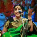 Singer Aruna Sairam @ Chennaiyil Thiruvaiyaru Season 14 Day 6 (Dec 23rd) Event Stills