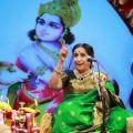 Singer Aruna Sairam @ Chennaiyil Thiruvaiyaru Season 14 Day 6 (Dec 23rd) Event Stills
