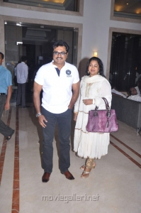 Sarathkumar, Radhika at Chennaiyil Oru Naal Press Meet Photos