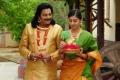Sai Kumar, Bhanu Mehra in Chilkur Balaji Movie New Stills