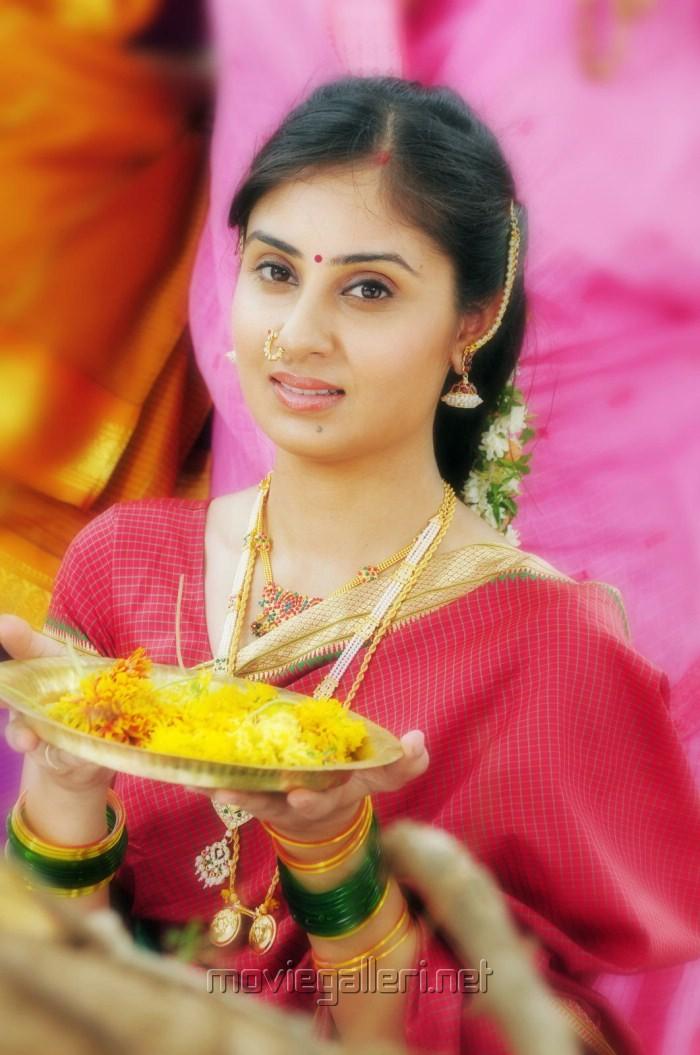 Actress Bhanu Sri Mehra in Chilkur Balaji Movie New Stills