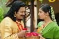 Sai Kumar, Bhanu Sri Mehra in Chilkur Balaji Movie Stills