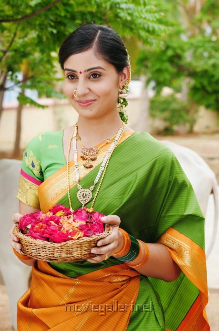 f95ace5073 Picture 258239   Bhanu Sri Mehra in Chilkur Balaji Movie Stills ...