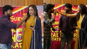 Kalaiyarasan, Ritu Varma @ China Tamil Movie Audio Launch Stills