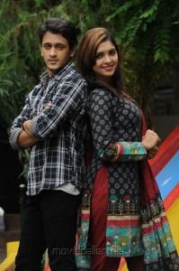 Manoj Nandan, Sanchita Padukone in Chinababu Movie Stills
