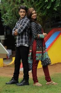 Sanchita Padukone, Manoj Nandan in Chinnababu Movie Stills