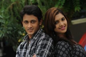 Manoj Nandan, Sanchita Padukone in Chinababu Telugu Movie Stills