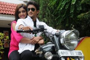 Chinababu Movie Sanchita Padukone, Manoj Nandan Stills