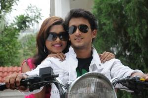 Sanchita Padukone, Manoj Nandan in Chinababu Movie Stills