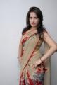 Lovely Heroine Chinmayi Ghatrazu Hot in Saree Pics