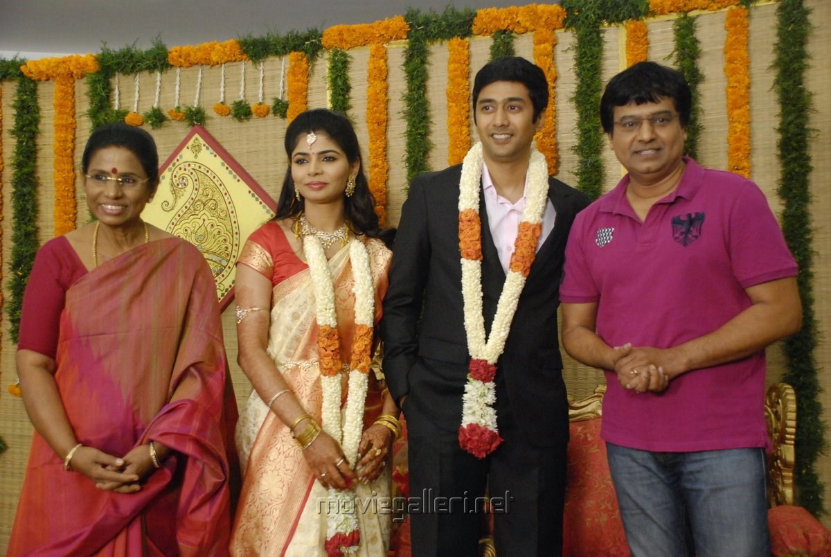 Vivek Singer Chinmayi Wedding Reception Stills