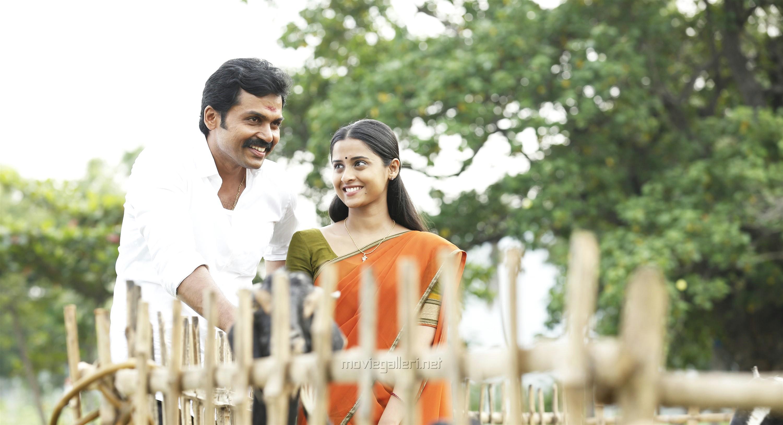 Karthi, Arthana Binu in Chinna Babu Movie HD Pics
