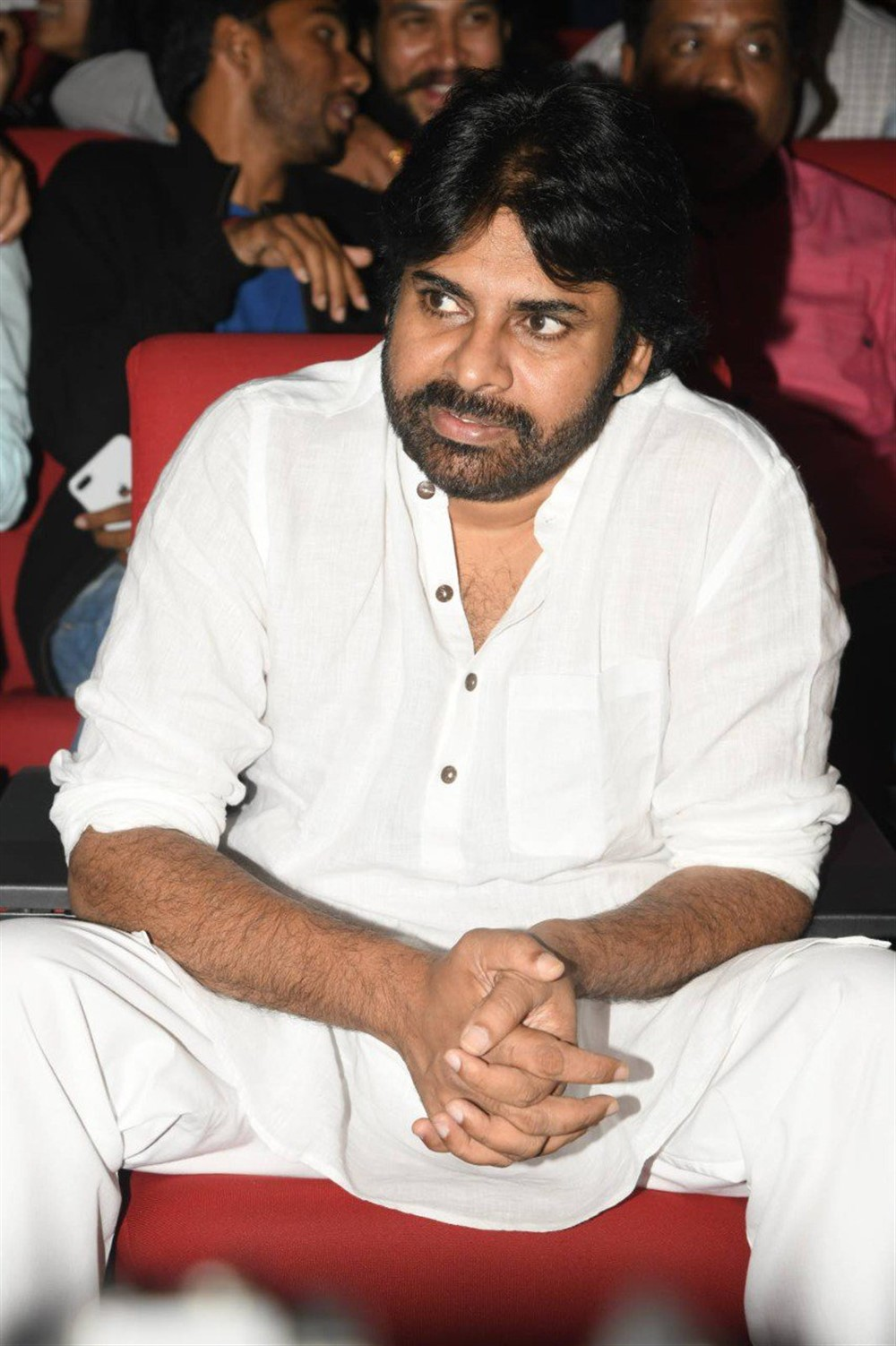 Pawan Kalyan @ Chiranjeevi 63rd Birthday Celebrations Stills