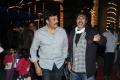 Chiranjeevi, Chota K.Naidu at Nayak Movie Shooting Spot Stills