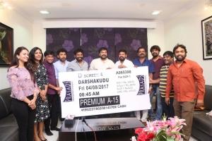 Chiranjeevi buys Darsakudu First Ticket Photos