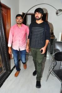 Kalyaan Dhev @ Chiranjeevi congratulates Vijetha Team
