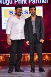 Megastar Chiranjeevi and Ram Charan's Best Moment at CineMAA Awards 2016 Photos