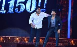 Chiranjeevi & Ram Charan Dance @ CineMAA Awards 2016 Photos