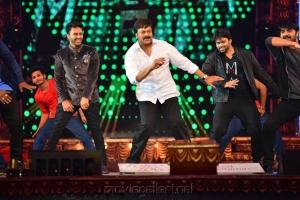 Megastar Chiranjeevi Dance @ CineMAA Awards 2016 Photos