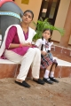 Vasundhara Kashyap, Sara Arjun in Chithiraiyil Nilachoru Movie Stills