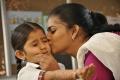 Baby Sara Arjun, Vasundhara Kashyap in Chithiraiyil Nilachoru Movie Stills