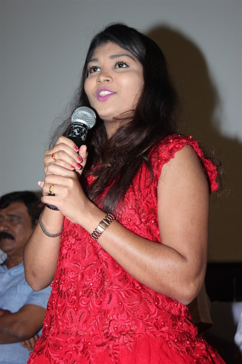 Actress Anjali @ Chithirame Solladi Audio Launch Stills