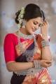 Actress Chithu in Saree Photoshoot Stills