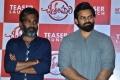 Kishore Tirumala, Sai Dharam Tej @ Chitralahari Movie Teaser Launch Stills