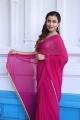 Victoria Maharani Actress Chitranshi Dhyani in Saree Photos