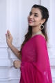Actress Chitranshi Dhyani Saree Photos @ Victoria Maharani Movie Opening