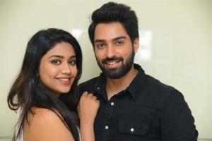 Malavika Satheesan, Shiva Kandukuri @ Choosi Choodangane Movie Press Meet Stills