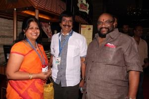 Chitra Lakshmanan, Santhana Bharathi @ CIFF 2013 Red Carpet @ INOX Day 2 Stills
