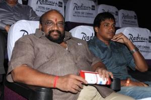 Chitra Lakshmanan, Santhana Bharathi, Sanjay @ CIFF 2013 Red Carpet @ INOX Day 2 Stills
