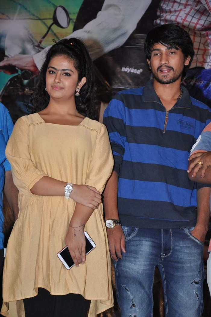 Raj Tarun, Avika S Gor @ Cinema Choopistha Mava First Look Launch Stills