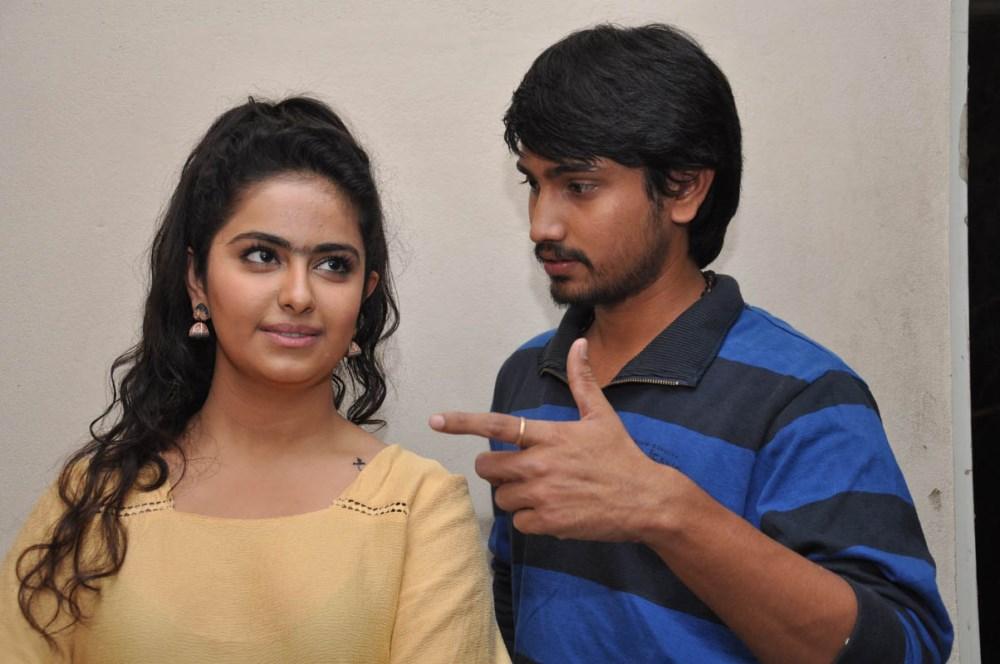 Avika S Gor, Raj Tarun @ Cinema Choopistha Mava First Look Launch Stills