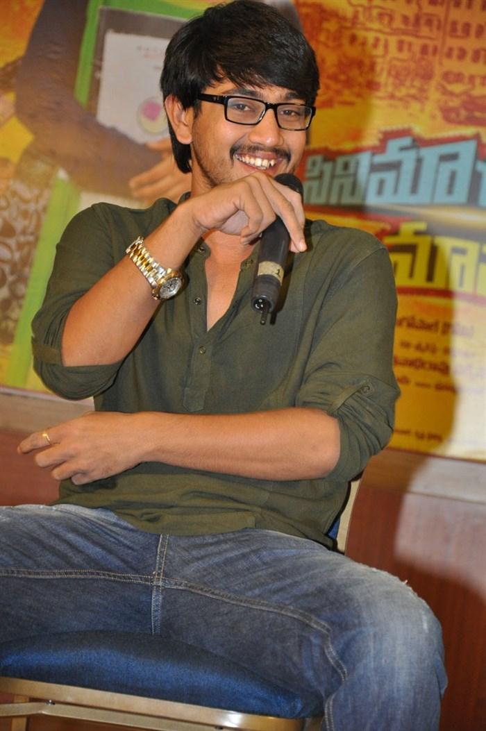 Hero Raj Tarun @ Cinema Choopistha Mava Team Interview Photos