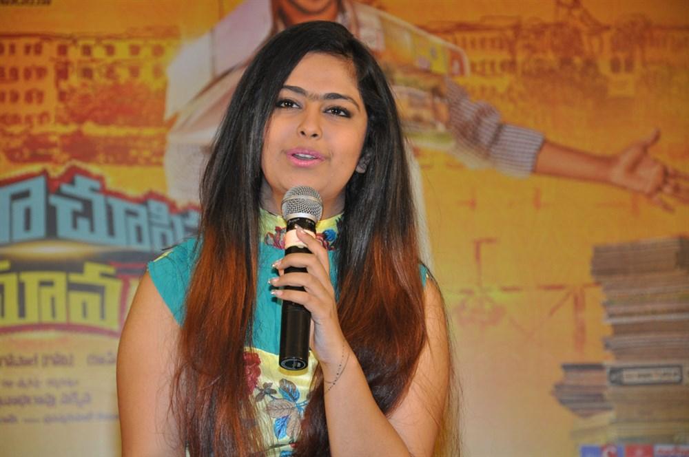 Heroine Avika Gor @ Cinema Choopistha Mava Team Interview Photos
