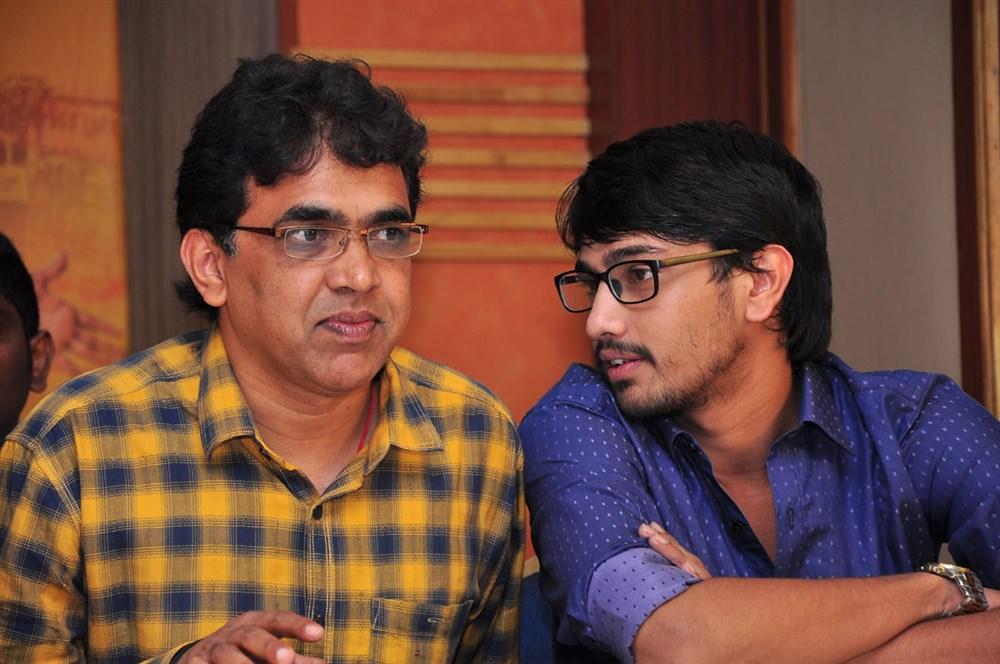 Bekkam Venugopal, Raj Tarun @ Cinema Chupistha Mava Pre-Release Press Meet Stills