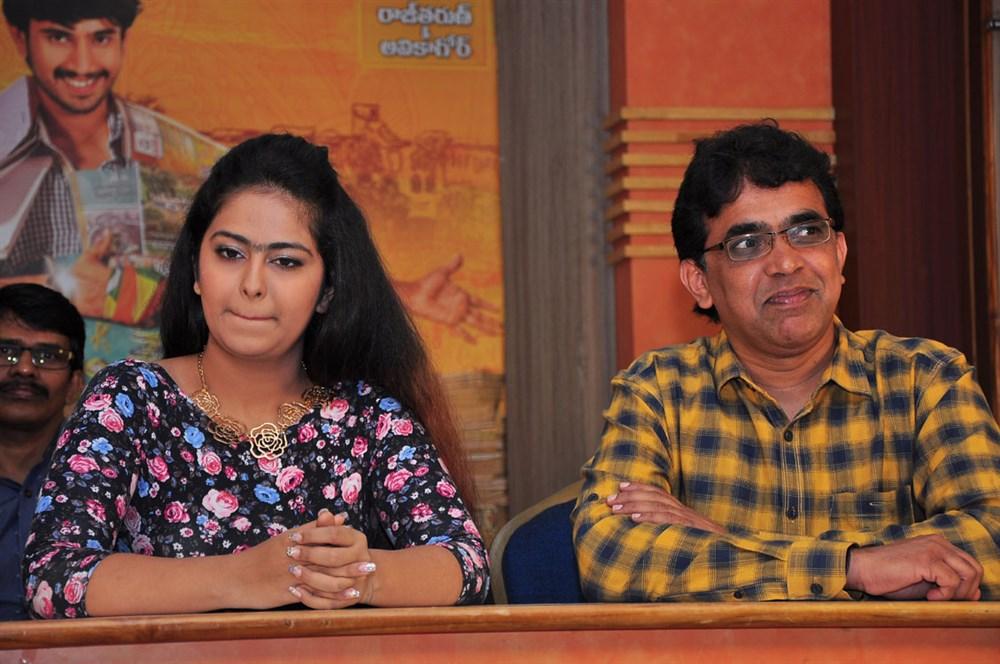 Avika Gor, Bekkam Venugopal @ Cinema Chupistha Mava Pre-Release Press Meet Stills