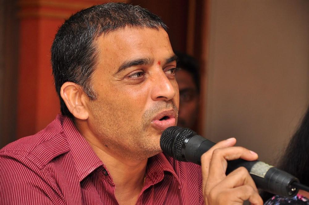 Dil Raju @ Cinema Chupistha Mava Pre-Release Press Meet Stills