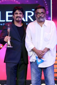 Nagarjuna, PC Sriram at CineMAA Awards 2013 Function Photos