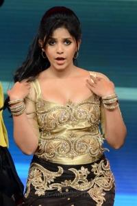 Actress Anjali at CineMAA Awards 2013 Function Photos