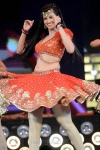 Actress Hamsa Nandini at CineMAA Awards 2013 Function Photos
