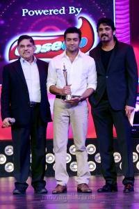 Allu Arjun, Suriya, Nagarjuna at CineMAA Awards 2013 Function Photos