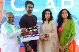 Ilayaraja, Aadhi, Aakanksha Singh, Krisha Kurup @ Clap Movie Opening Stills
