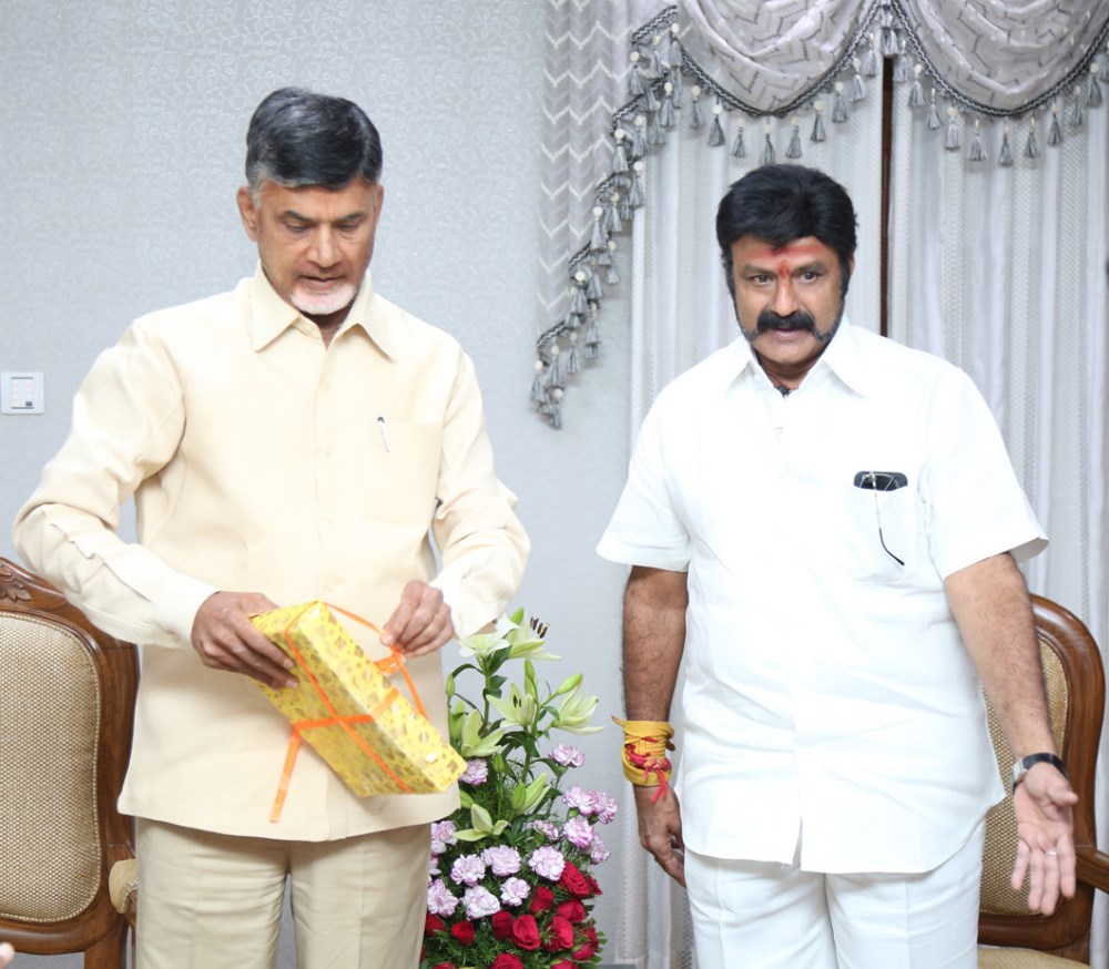 CM Chandrababu Naidu launches India Today Special Edition on Nandamuri Balakrishna