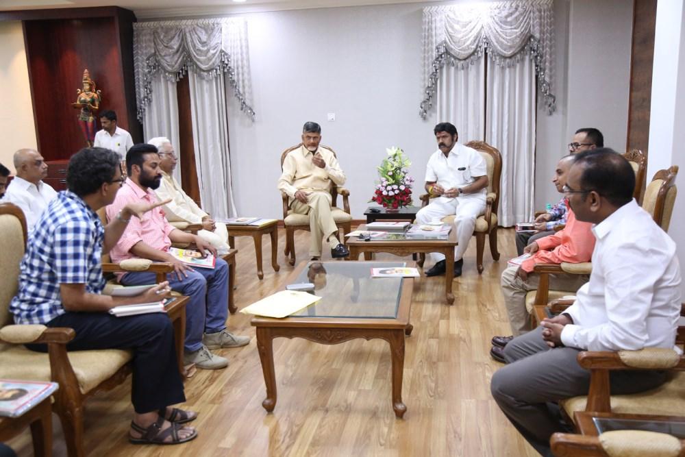 CM Chandrababu Naidu launches India Today Balakrishna Special Edition